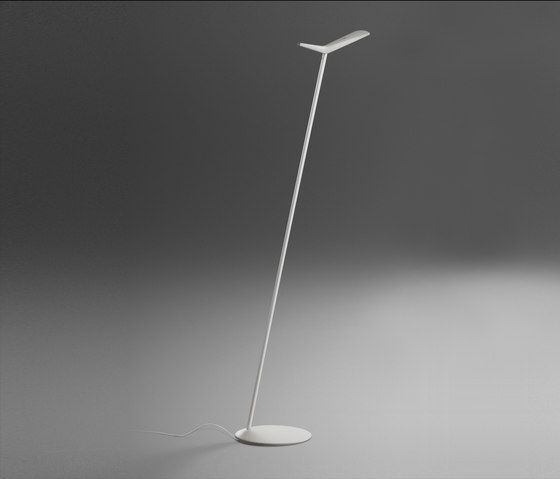 General lighting free standing lights skan floor lamp vibia