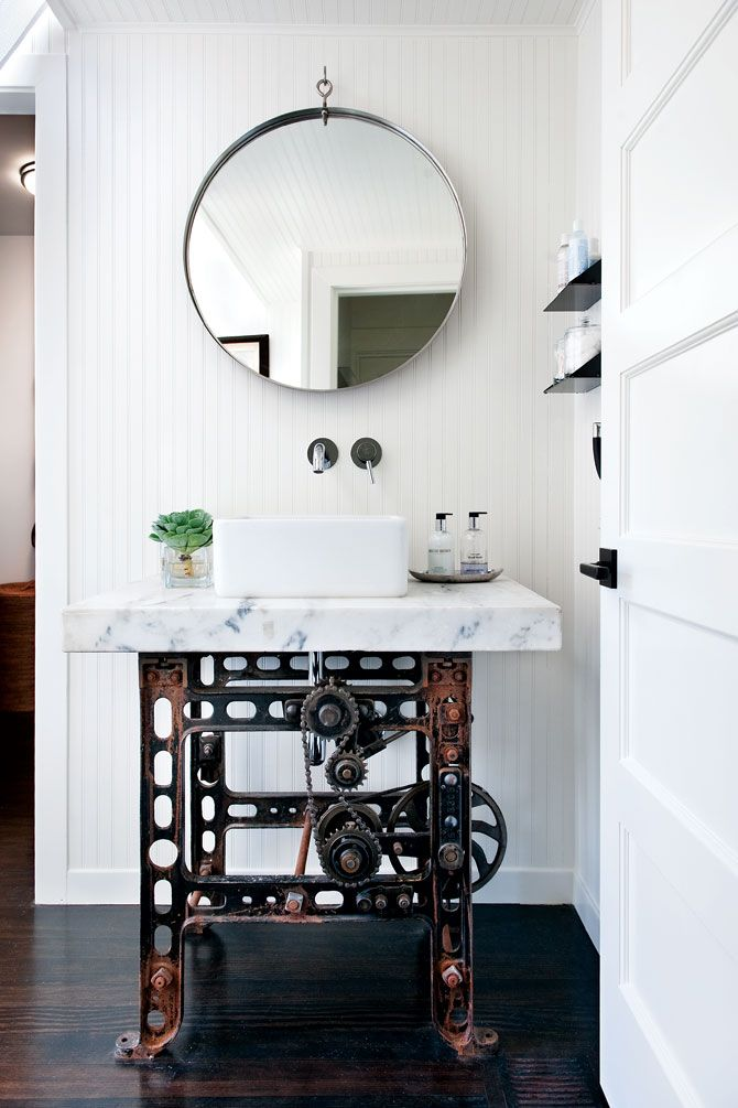 What A Fantastic Vanity And Great Mirror Erika French