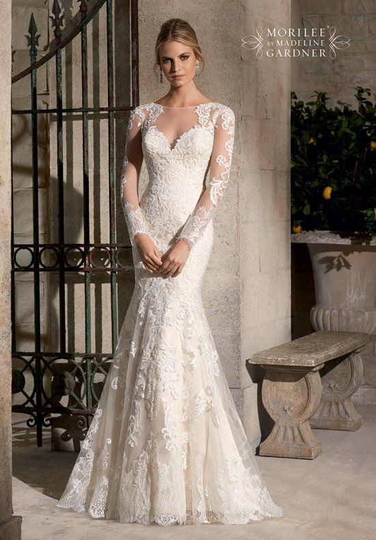 Mori Lee by Madeline Gardner 2725 Wedding Dress - The Knot | Happily ...