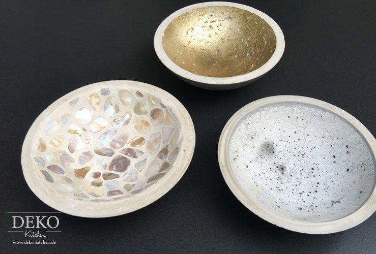 DIY Schalen aus Beton - Beitrag Kaffee oder Tee SWR Fernsehen - gartendeko aus beton selbstgemacht