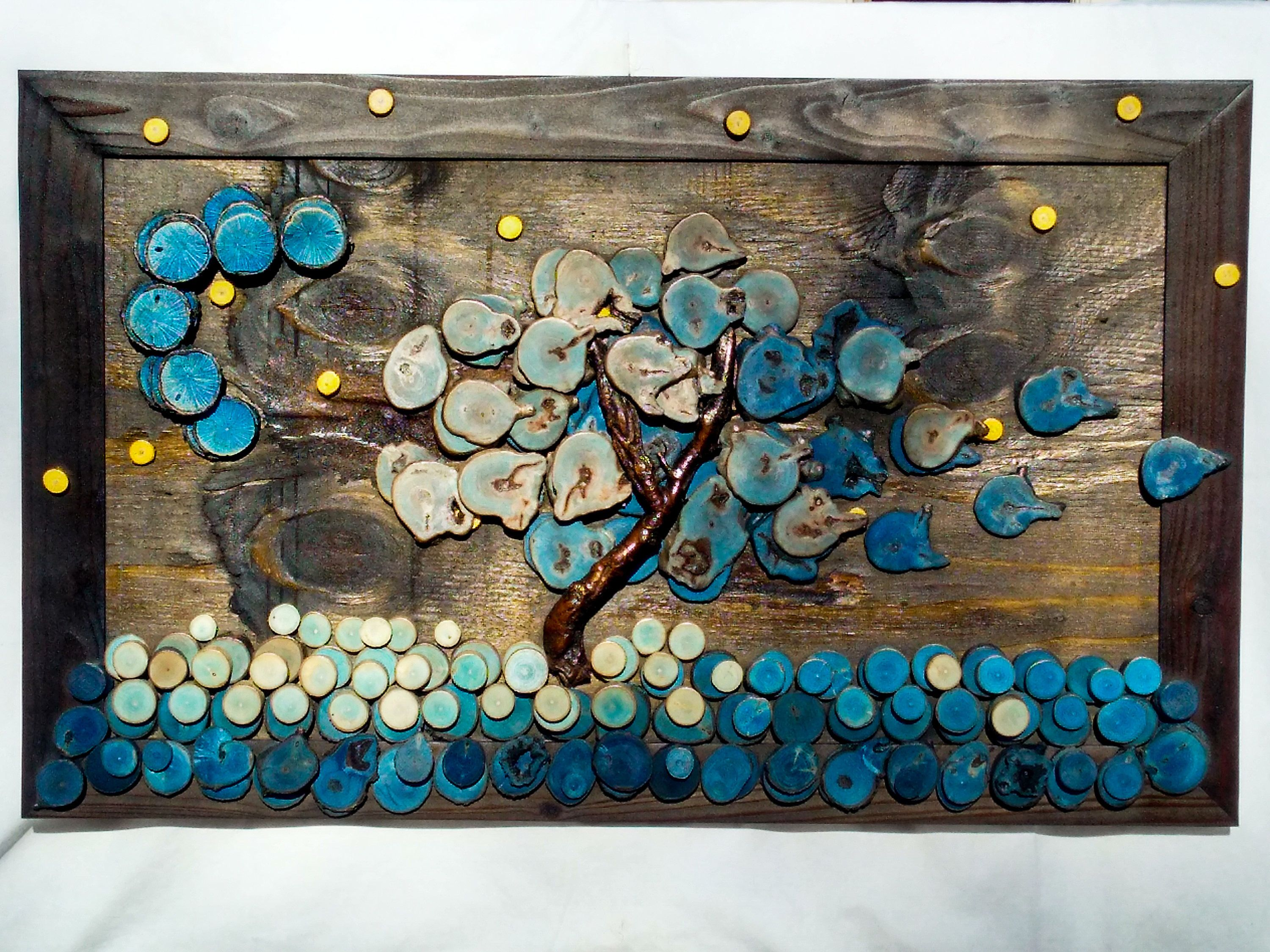 Wood wall art decor homemade abstract unique also rh pinterest