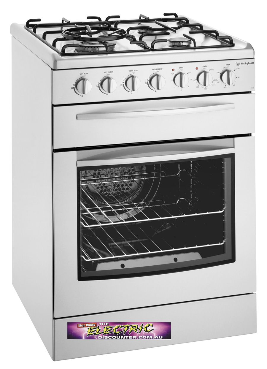 Westinghouse Gsp625sng 600mm Cooking Appliance Gas Oven Stove