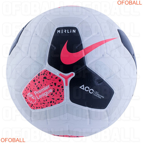 Nike Merlin Premier League 19 20 Ball Revealed Premier League Premier League Logo Premier League Football