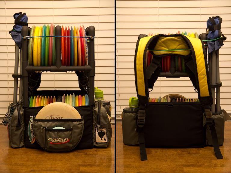 Double Decker Bag Mod Archive Disc Golf Course Review Disc