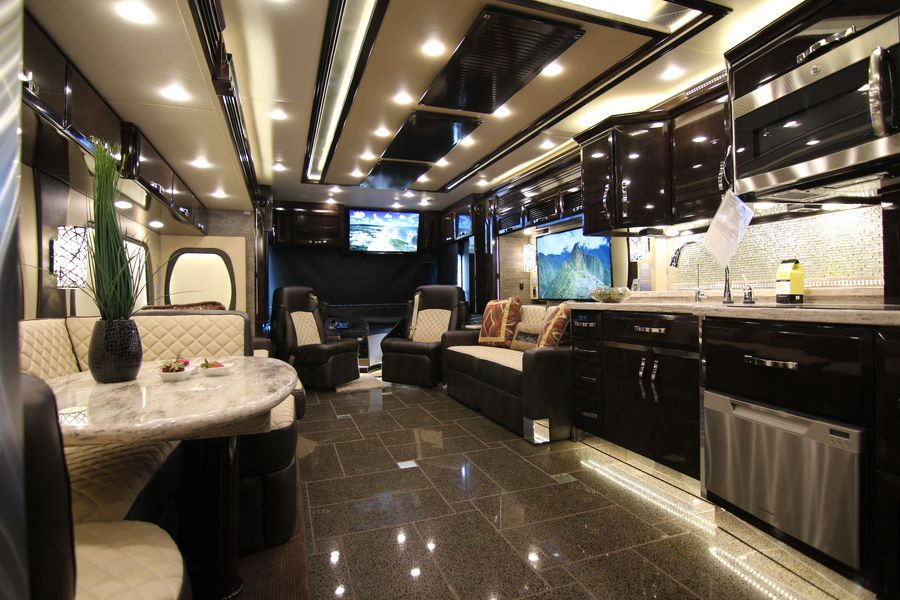 Top 5 Luxurious RVs | RVs | Luxury rv, Motorhome interior, Luxury