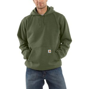carhartt midweight hooded pullover sweatshirt for men on men s insulated coveralls with hood id=16936