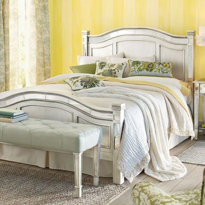 Hayworth Headboard Amp Footboard I Love Silver And Mirrored