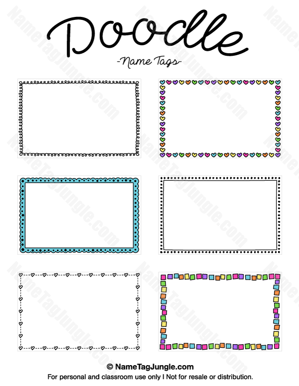 Pin von Muse Printables auf Name Tags at NameTagJungle.com ...