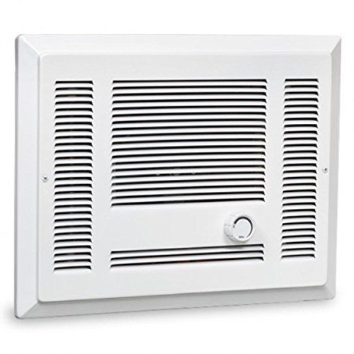 Cadet Sl151tw Wall Heater 1500w 120v Sl Series Heater Assembly W Grill Thermostat White Small Room Heater Heater Heating Systems