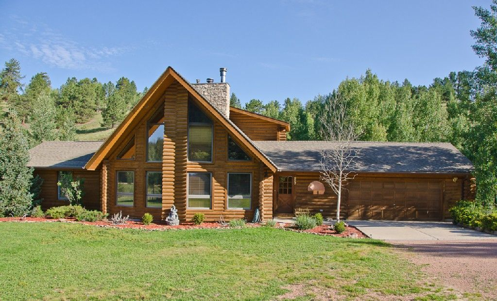 Luxurious Cripple Creek Colorado Log HomeVacation Rental In Cripple Creek  From