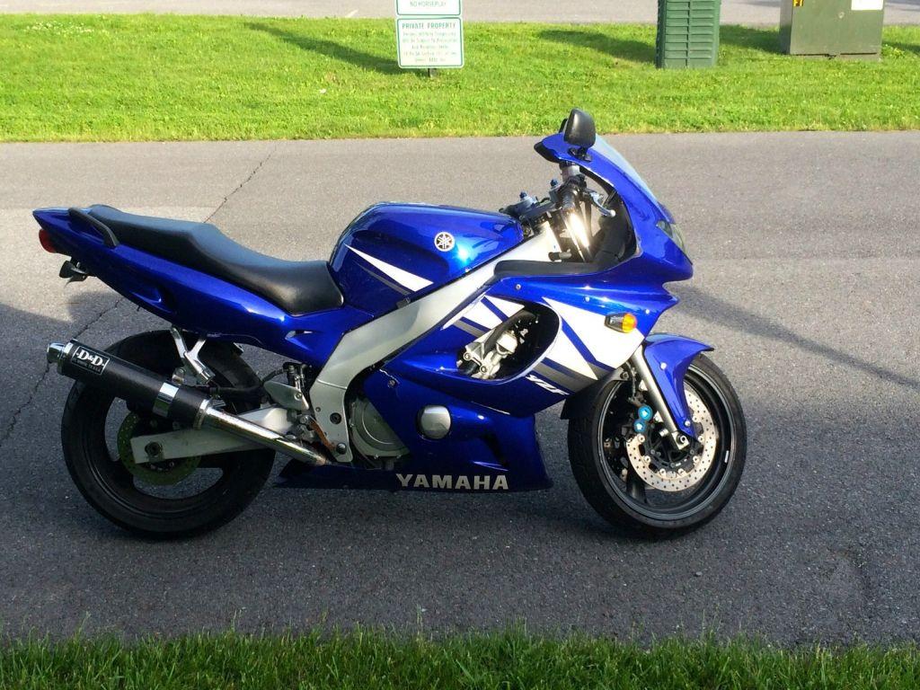 2003 Yamaha YZF 600R Sport bike Bike Ideas, Sport Bikes, Yamaha Yzf, Fuel