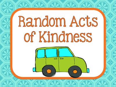 Teach123 - tips for teaching elementary school: Random Acts of Kindness