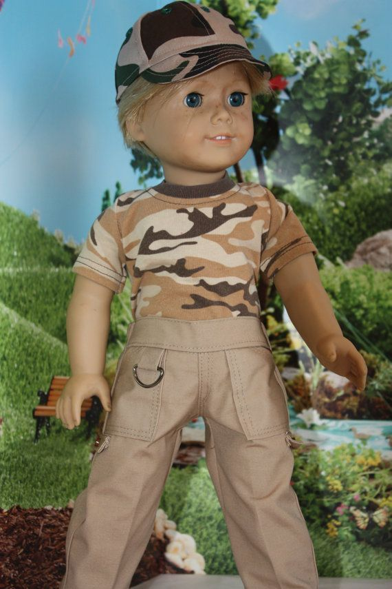18 inch boy clothes, American girl clothes, Cargo pants and a camo t shirt for boy dolls #boydollsincamo 18 inch boy clothes American girl clothes by GrandmasDollCloset #boydollsincamo 18 inch boy clothes, American girl clothes, Cargo pants and a camo t shirt for boy dolls #boydollsincamo 18 inch boy clothes American girl clothes by GrandmasDollCloset #boydollsincamo 18 inch boy clothes, American girl clothes, Cargo pants and a camo t shirt for boy dolls #boydollsincamo 18 inch boy clothes Ameri #boydollsincamo