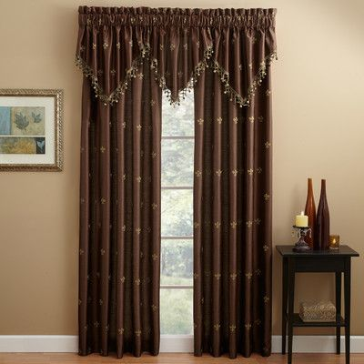 Brockham Room Darkening Thermal Grommet Curtain Panels Set