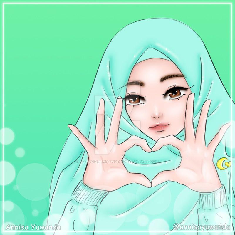 Beautiful Muslimah Hijab Girl 29 By Mylucidheartwork Deviantart Com On Deviantart Anime Anime Art Beautiful Anime Art Tutorial