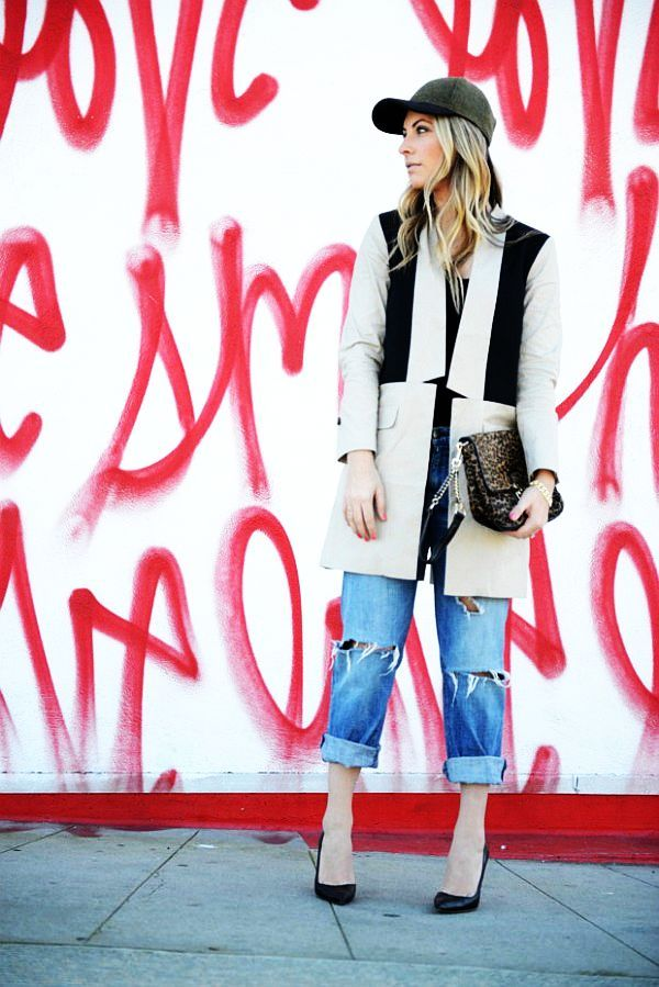 ~~ Blogger Denim Style: Emily Schuman is One of The Boys  ~~  via Eat, Sleep, Denim.