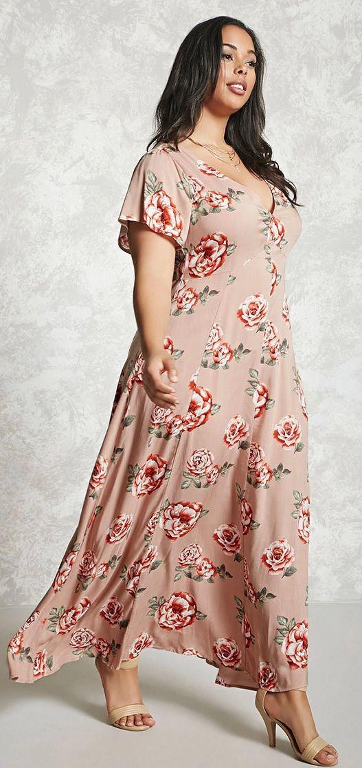 Plus Size Floral Maxi Dress Maxi Dress Floral Maxi Dress Plus Size Maxi Dresses