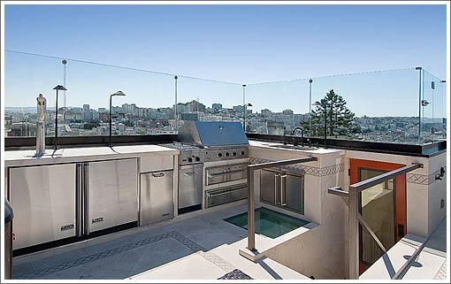 Outdoor Rooftop Kitchen Outdoor Kitchen Outdoor Living Kitchen Outdoor Kitchen Design
