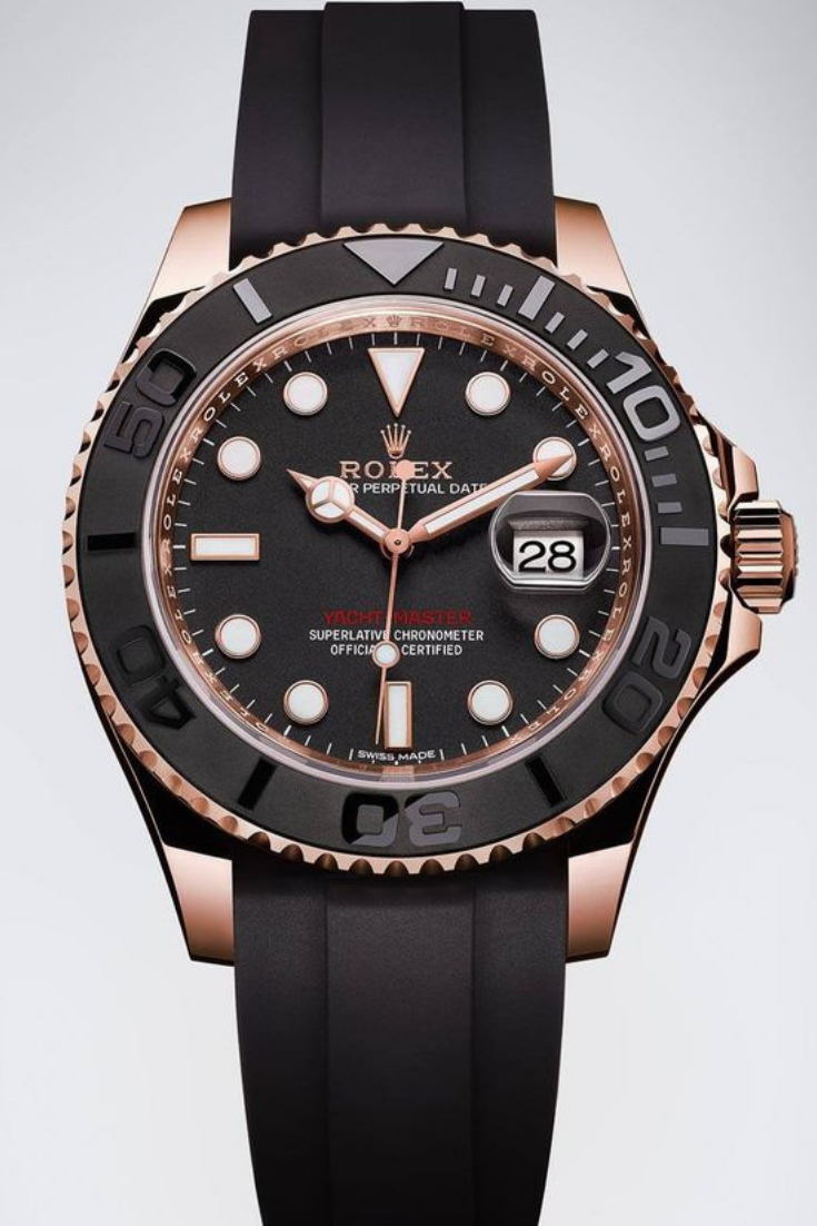 How To Tell A Fake Rolex From An Original Rolex Watches Rolex Yacht Master Best Watches For Men