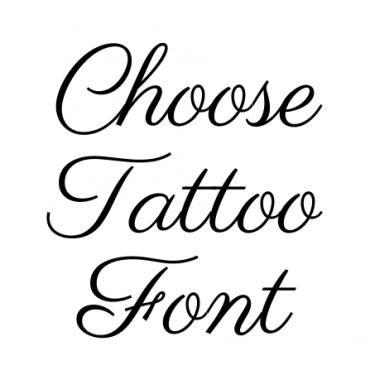 Handwritten Script Tattoo Font Generator Tattoo Fonts Generator