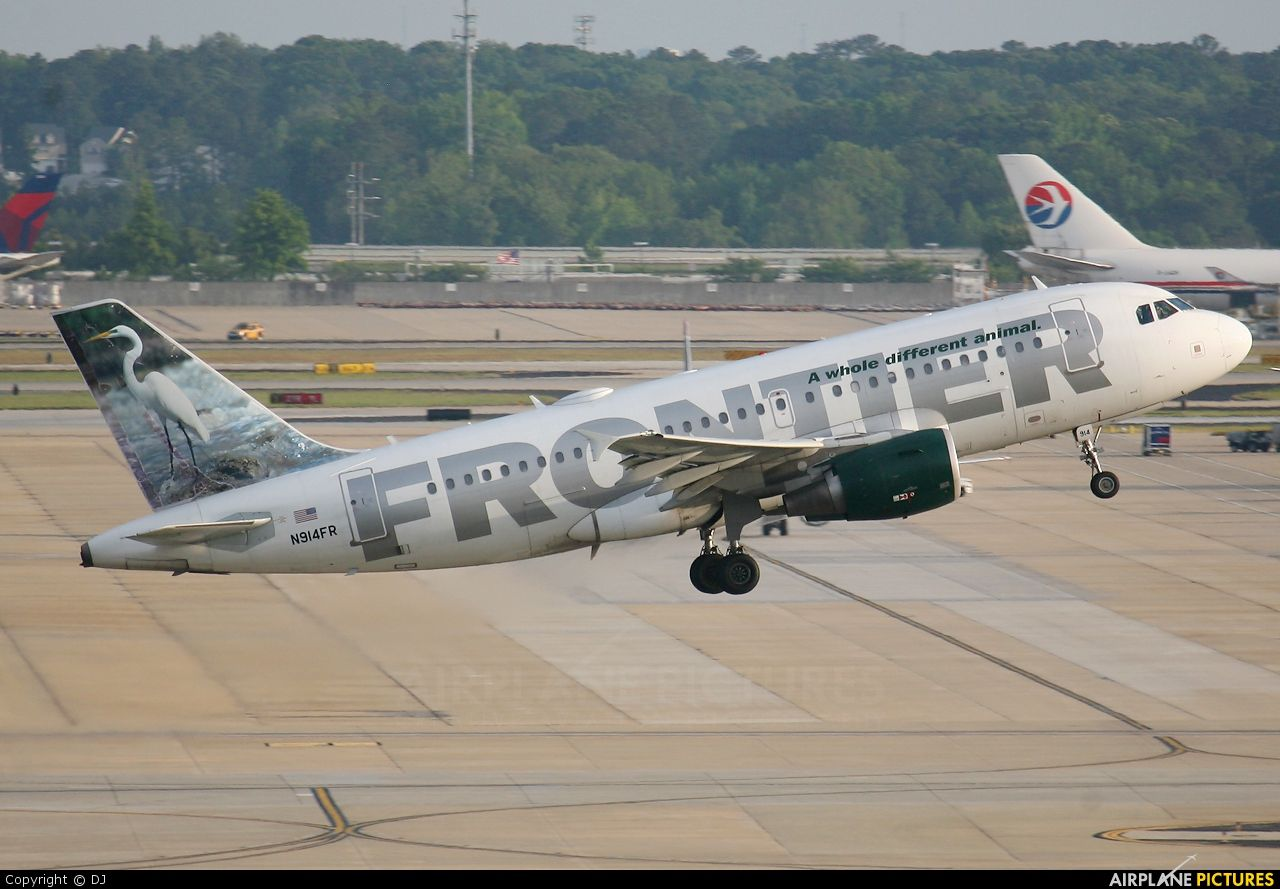 frontier airlines | Frontier Airlines N914FR aircraft at
