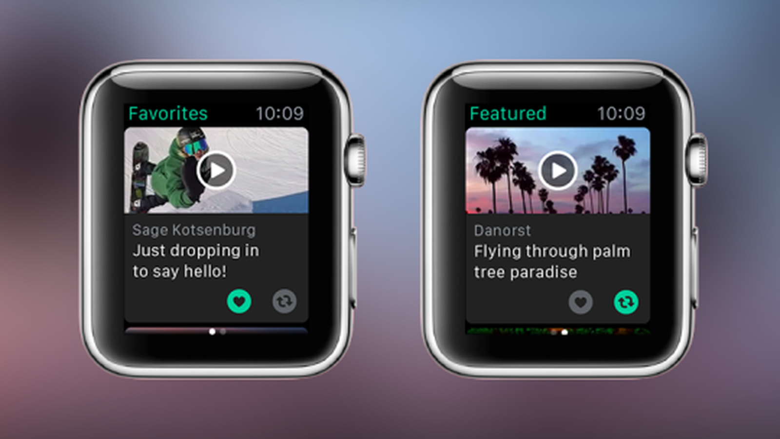 Vine arrives on the Apple Watch (With images) Apple