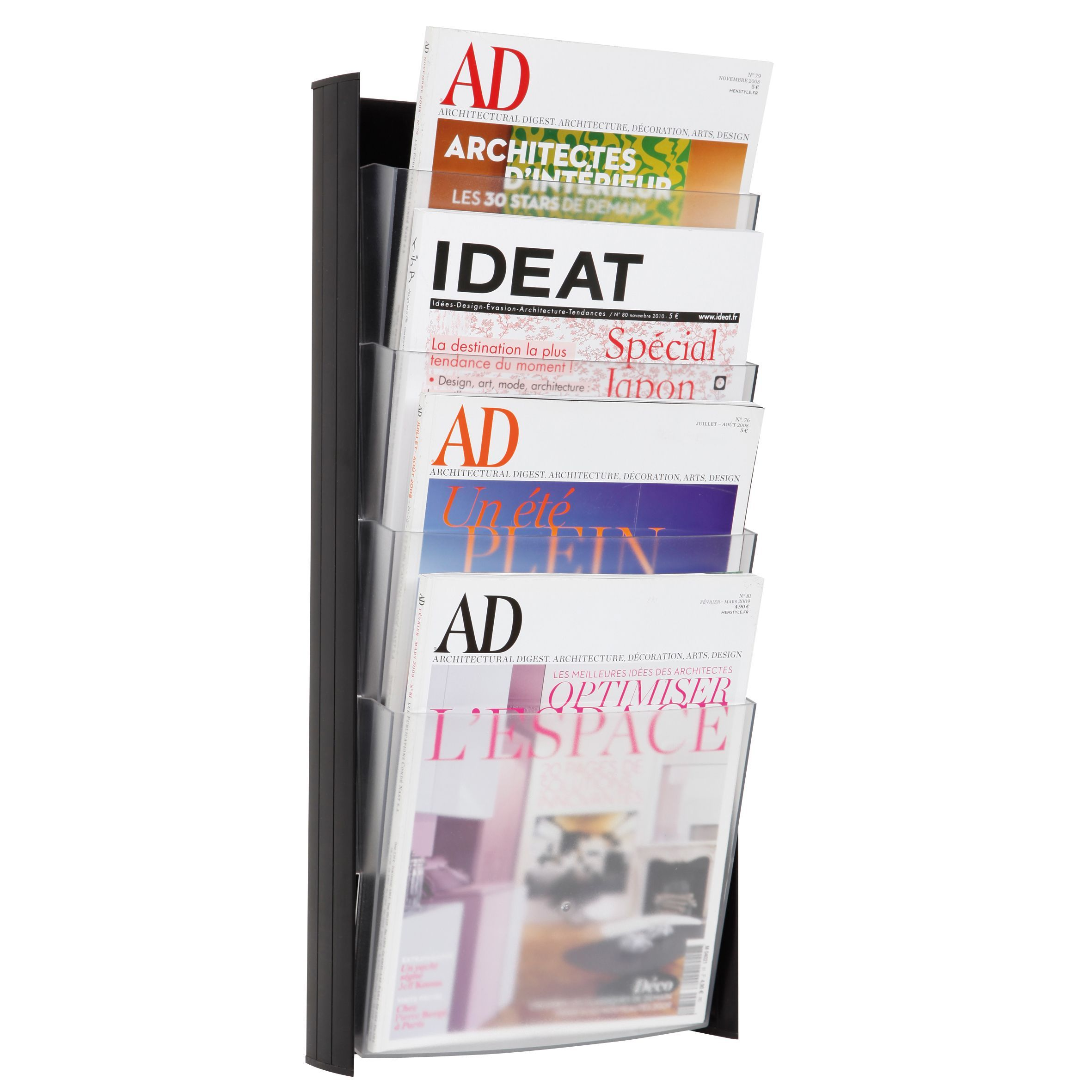 Alba 4-pocket A4 Wall Document Display