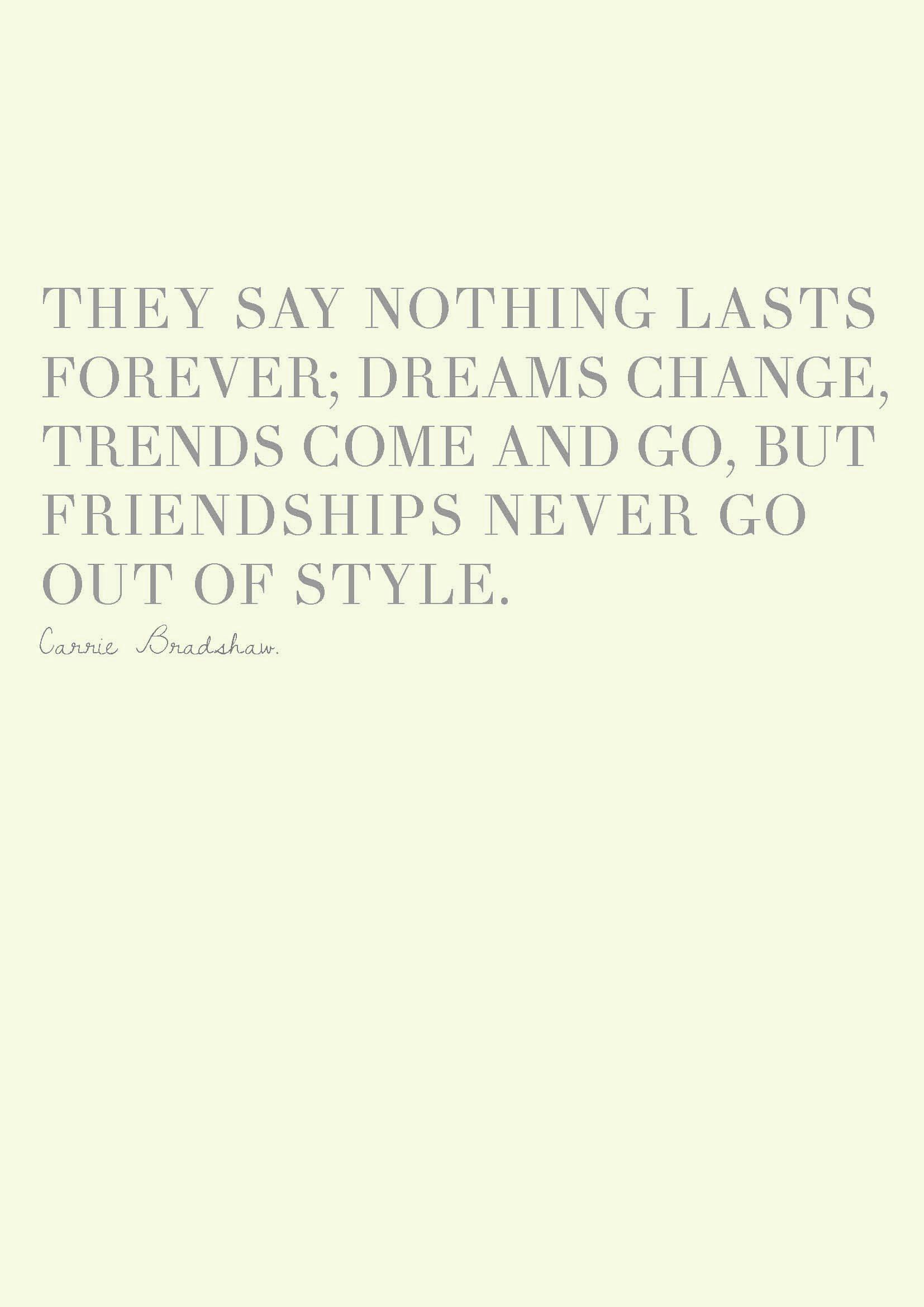 carrie bradshaw quotes carrie bradshaw quotes best friendship