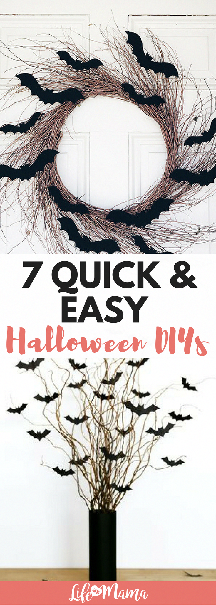 85e7e5b6a5 Halloween DIY's are here! I've found some fun ways to decorate to get you  in the Halloween spirit. #halloweendecorations