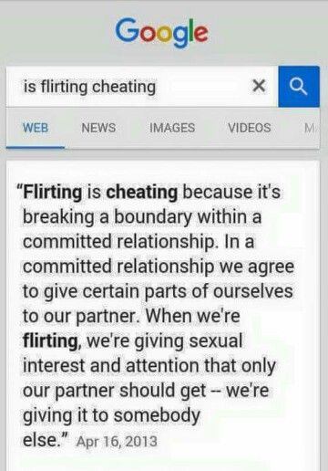 flirting vs cheating committed relationship meaning without love