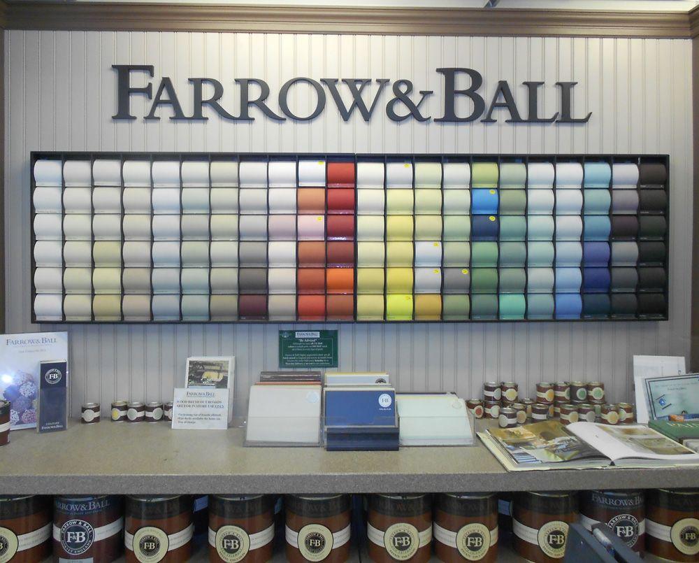 Farrow & Ball Display Marine Home Center 134 Orange Street Nantucket, MA 02554