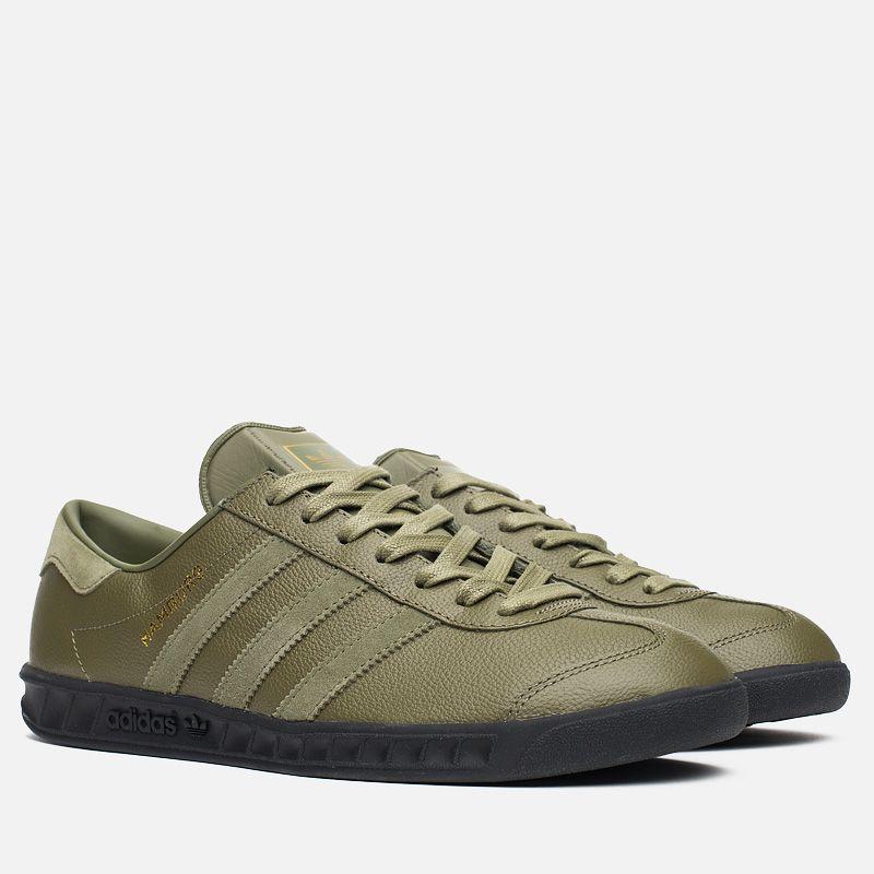 Кроссовки adidas Originals x size? Hamburg OliveBlack