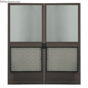 CRL Columbia Steelbreeze Bronze 64  x 80  Steel Hinged Screen Double Door  sc 1 st  Pinterest & CRL Steelbreeze Bronze 64u0026quot; x 80u0026quot; Steel Hinged Screen Door ...