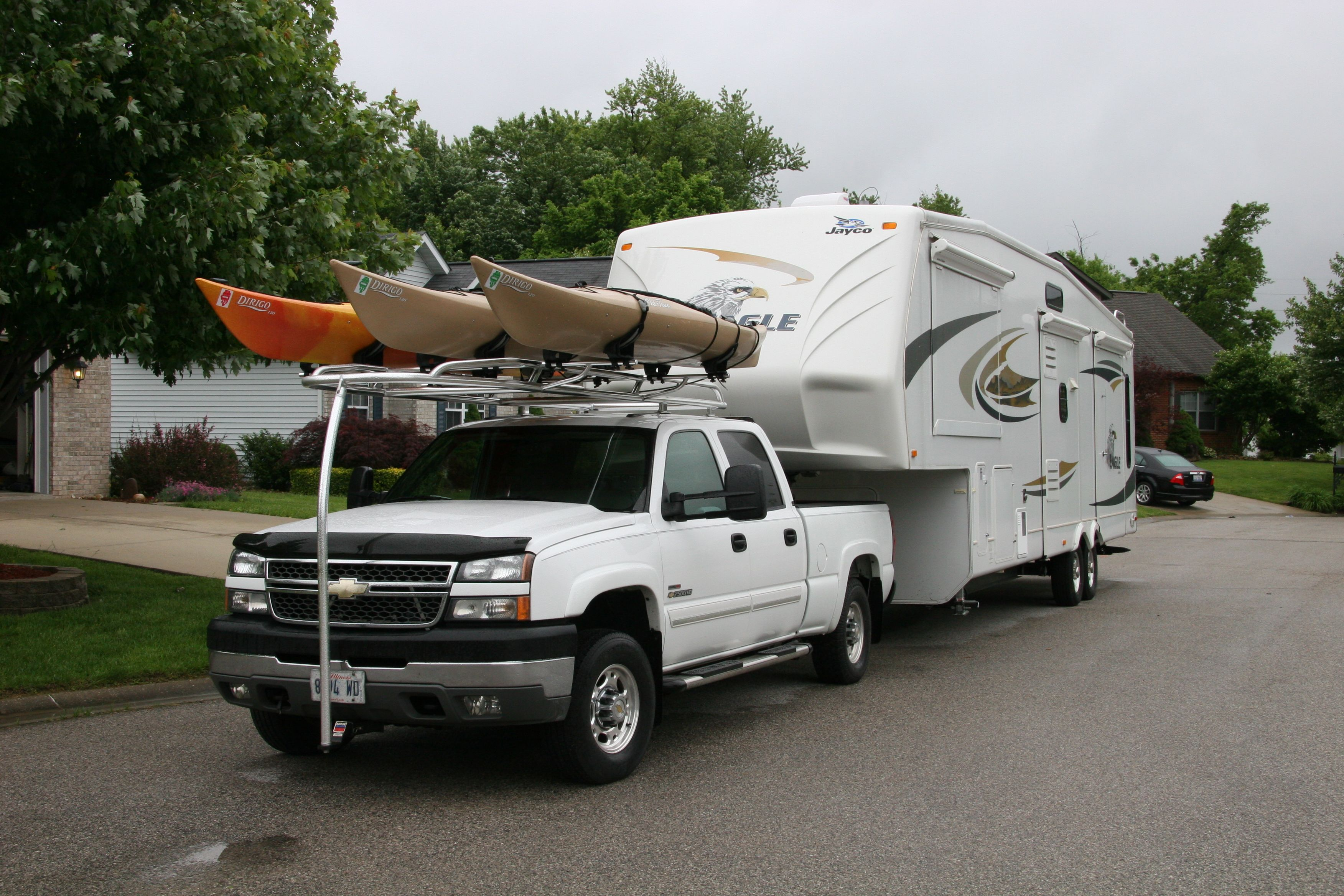 Kayak Rack For Truck With 5th Wheel Kayak Rack Kayak Rack For