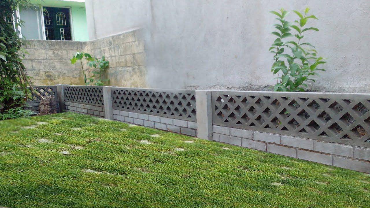 Diy Concrete Garden Wall Building A Retaining Wall Concrete Garden Concrete Wall Panels