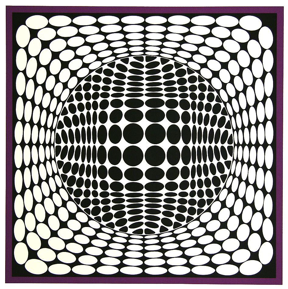 Pin Van Miguel Ferrer Op Patterns Psicodelia Optische Illusies Illusies Victor Vasarely