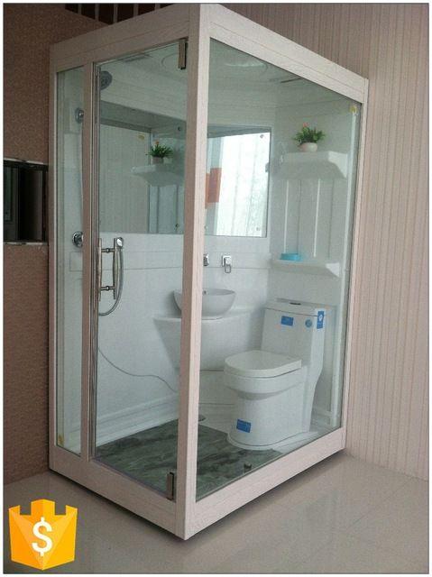 Source Fashionable Frp Portable Complete Modular Bathroom Units
