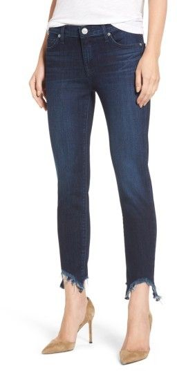 9b9dbcf1bdb Hudson Women s Colette Step Hem Skinny Jeans