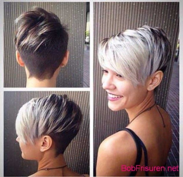 Asymmetrische Kurze Haare Hair Hairstyles Frisuren Hair Short