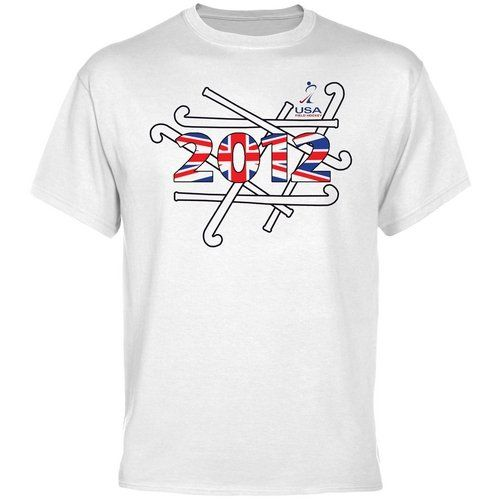 Usa Field Hockey London Bound T Shirt White 17 95 Field Hockey Hockey Tshirts Hockey