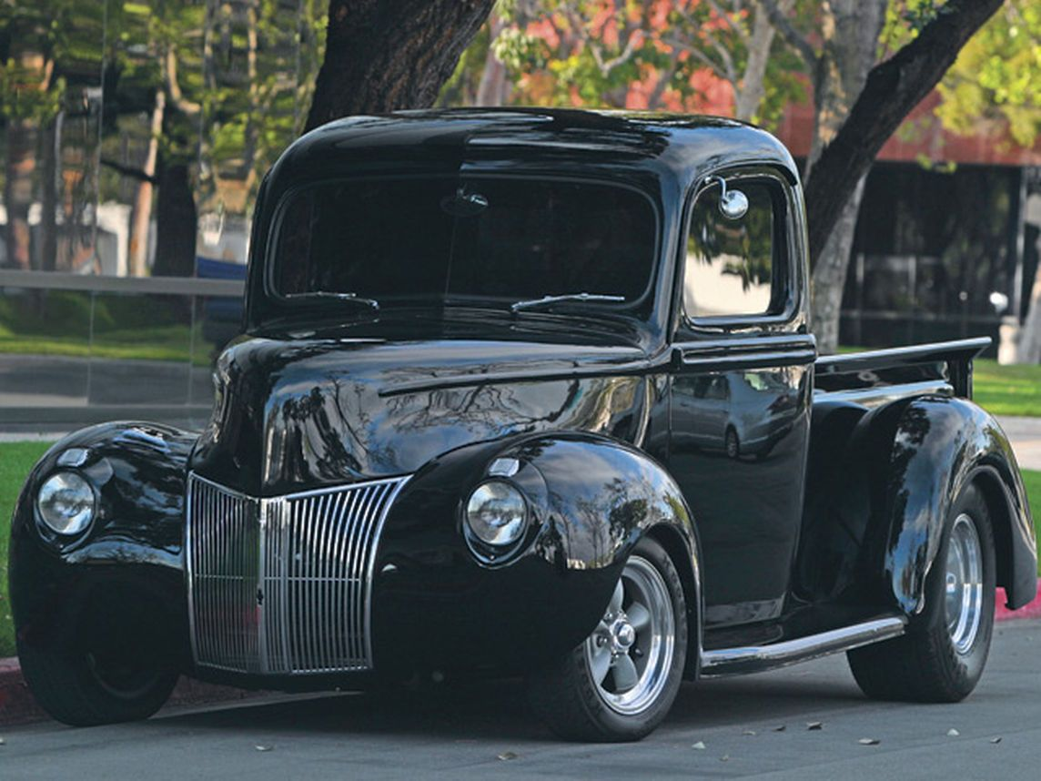 This 1940 Ford Pickup Received A Restoration With Aftermarket Parts Including A Billet Steering Whee In 2020 Classic Trucks Classic Cars Trucks Classic Trucks Magazine