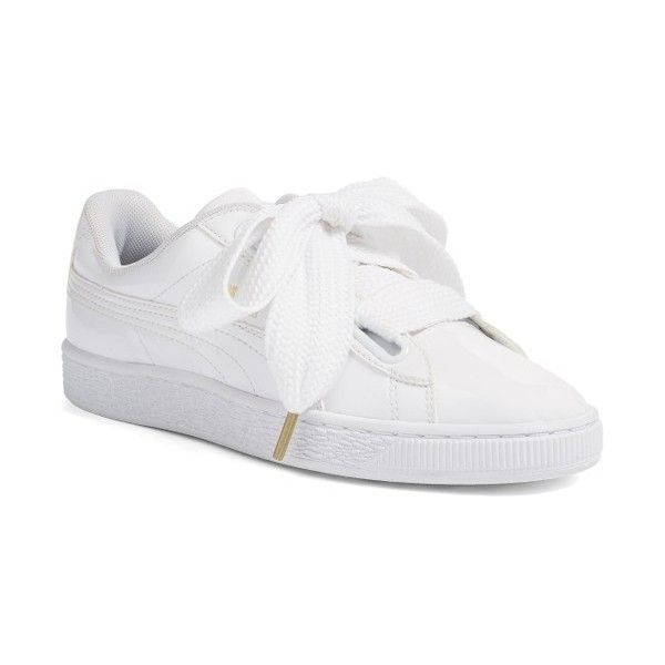 Women s Puma Basket Heart Sneaker (765 SEK) ❤ liked on Polyvore featuring  shoes 47e9db771