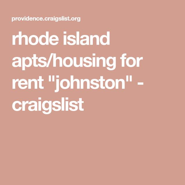 rhode island apts/housing for rent