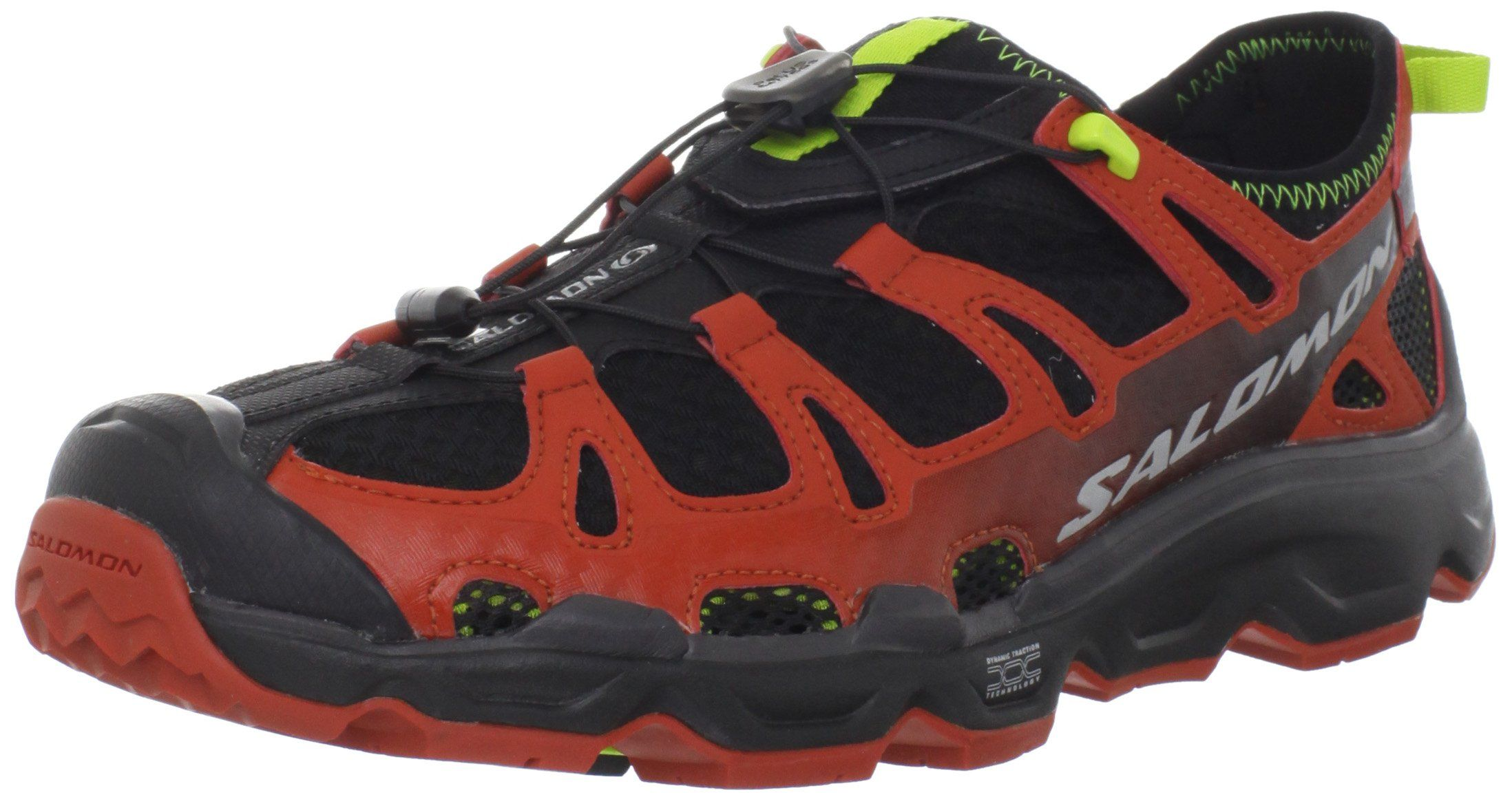 Salomon Mens Rx Gecko Crosscountry Shoeblack Moab Orange Green9 M Us Click Image For More Det Cross Country Shoes Running Shoes For Men Black Shoes