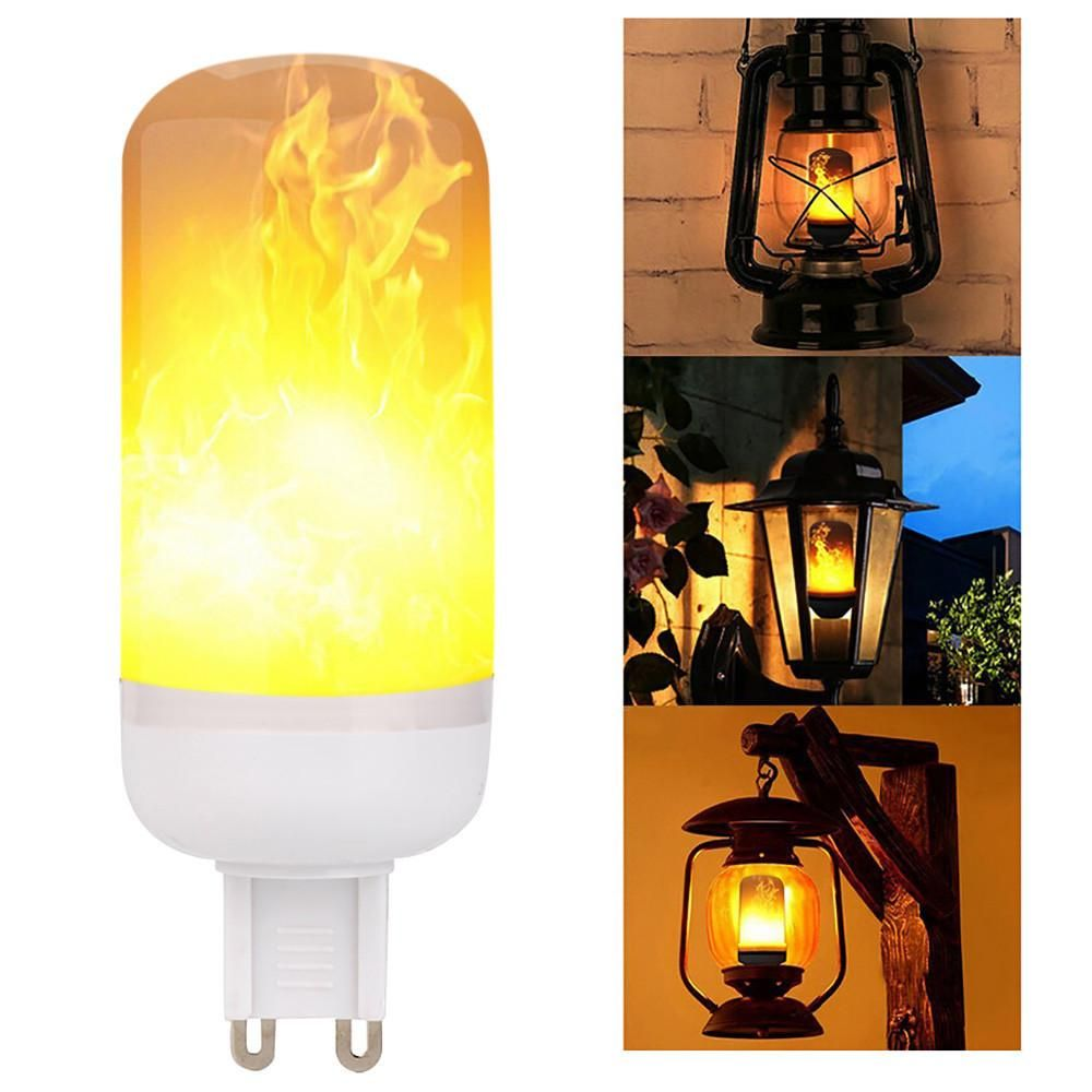Led Flame Fire Light Effect Simulated Jewels Pearls More Led Light Bulb Lamp Candle Lamp