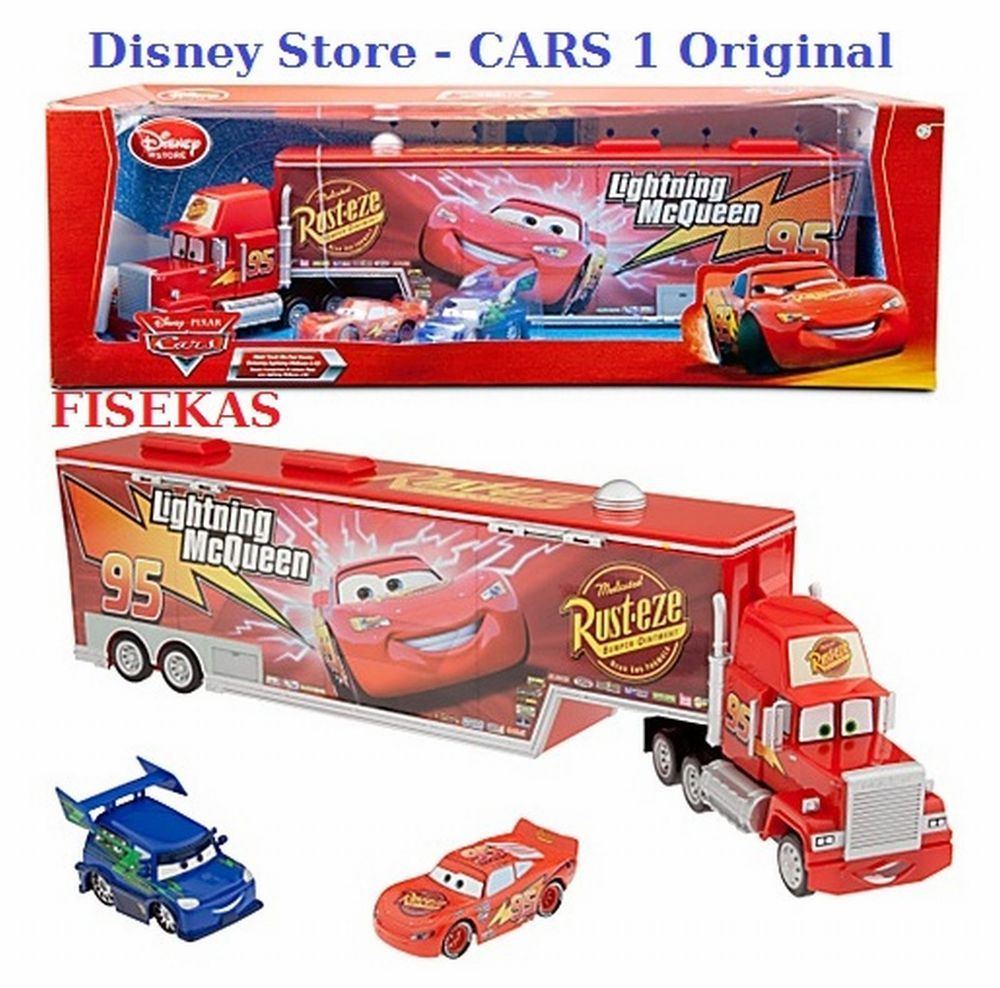 No 95 Mack Truck Lightning Mcqueen Cars Disney Pixar Toy Car Set Toys For Kids Ebay Lightning Mcqueen Disney Cars Mack Trucks