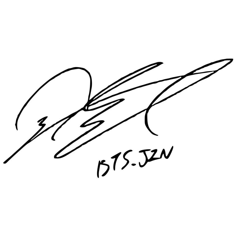 Jin Signature Bts Signatures Jin Bts Jin