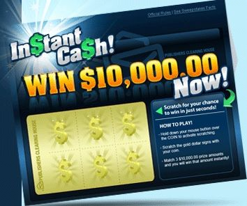 PCH INSTANT WIN GAME  Did you get your FREE scratch off today?? PLAY DAILY!