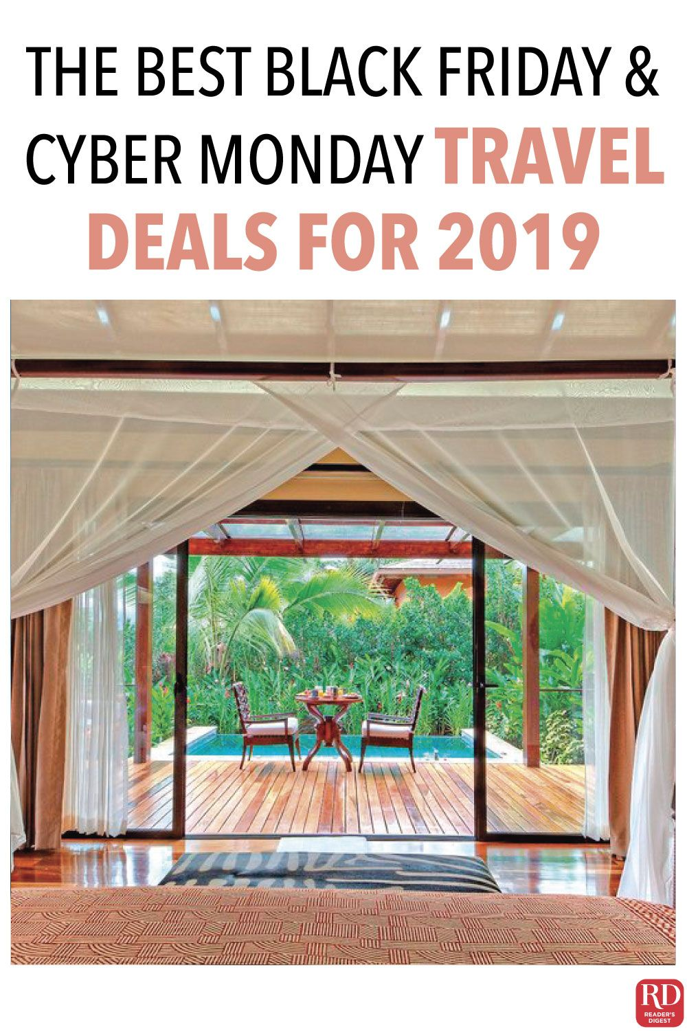The Hottest Black Friday and Cyber Monday Travel Deals for 2019 — Black Friday sales and Cyber Monday sales are famous for deals on TVs, but these travel destination discounts can't be beat. #Travel #BlackFriday #CyberMonday #TravelDiscounts #TravelDestinations #SavingMoney #Sale #SmartTravel #CheapTravel