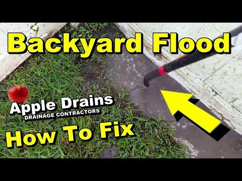 How to drain low spot in yard do it yourself for homeowners how to drain low spot in yard do it yourself for homeowners better solutioingenieria Gallery